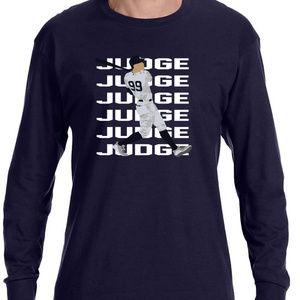 New York Yankees Aaron Judge Long Sleeve Shirt